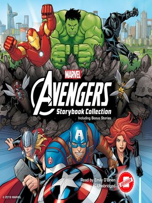 cover image of Avengers Storybook Collection