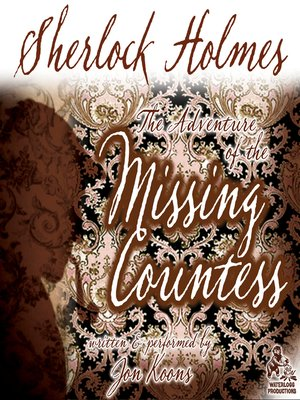 cover image of Sherlock Holmes and the Adventure of the Missing Countess