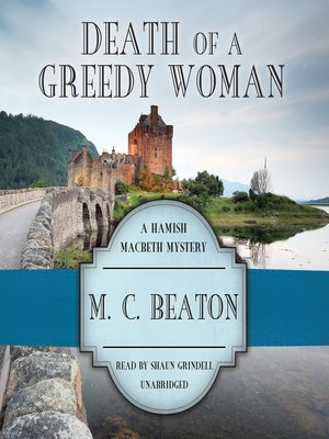 cover image of Death of a Greedy Woman