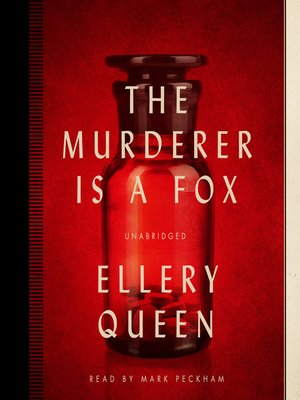cover image of The Murderer Is a Fox