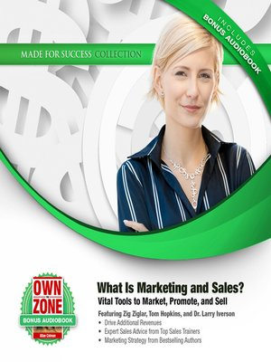 cover image of What Is Marketing and Sales?