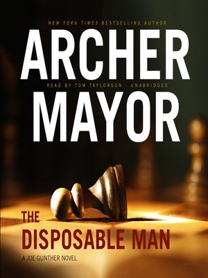 cover image of The Disposable Man