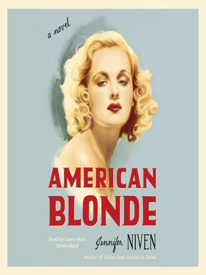 cover image of American Blonde