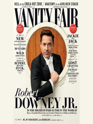 cover image of Vanity Fair: October 2014 Issue