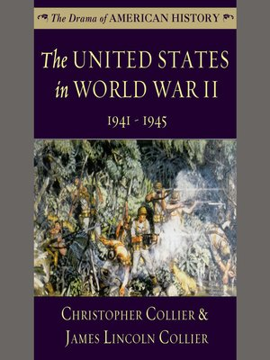 cover image of The United States in World War II