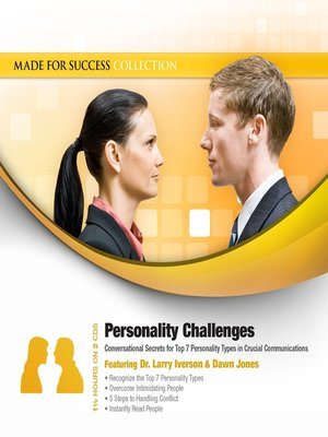 cover image of Personality Challenges