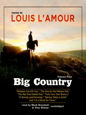 cover image of Big Country, Volume 4