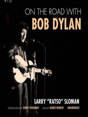 cover image of On the Road with Bob Dylan