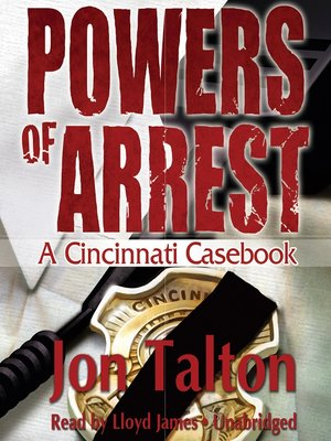 cover image of Powers of Arrest