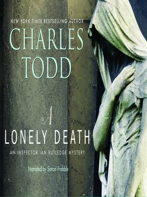cover image of A Lonely Death