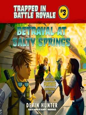 cover image of Betrayal at Salty Springs
