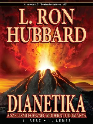 cover image of Dianetics: The Modern Science of Mental Health (Hungarian)