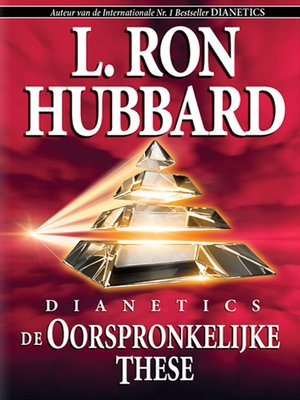 cover image of Dianetics: The Original Thesis (Dutch)