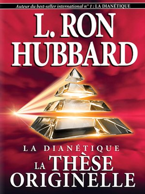 cover image of Dianetics: The Original Thesis (French)