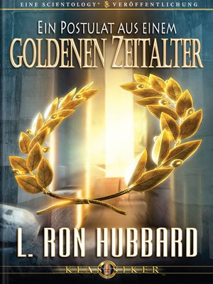cover image of A Postulate Out of a Golden Age (German)