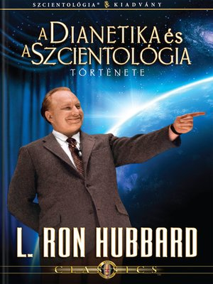 cover image of The Story of Dianetics & Scientology (Hungarian)