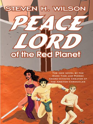 cover image of Peace Lord of the Red Planet