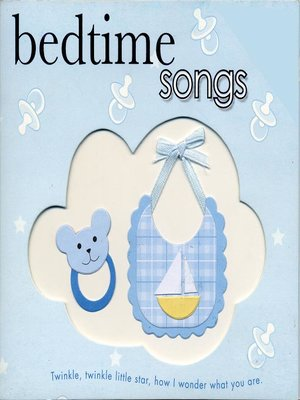 cover image of Bedtime Songs
