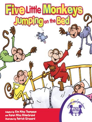 cover image of Five Little Monkeys Jumping on the Bed