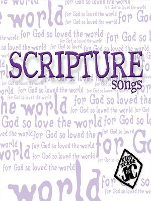 cover image of Scripture Songs