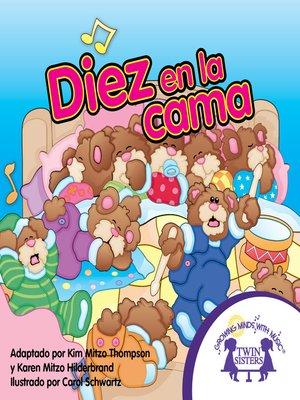 cover image of Diez en la Cama