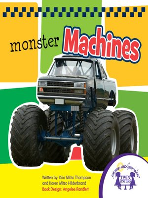 cover image of Monster Machines Picture Book