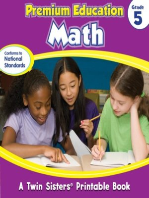 cover image of Premium Education Math Grade 5