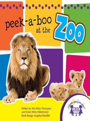 cover image of Peek-aBoo at the Zoo Picture Book