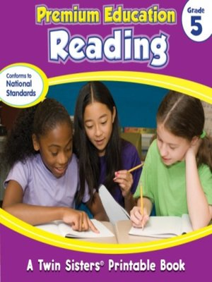 cover image of Premium Education Reading Grade 5