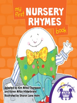 cover image of My First Nursery Rhymes