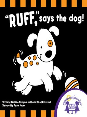 cover image of Ruff Says the Dog!