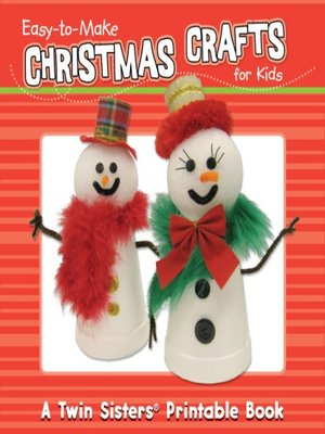 cover image of Easy-to-Make Christmas Crafts for Kids