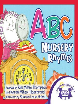 cover image of ABC Nursery Rhymes