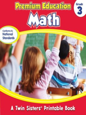 cover image of Premium Education Math Grade 3