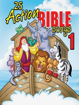 cover image of 50 Action Bible Songs