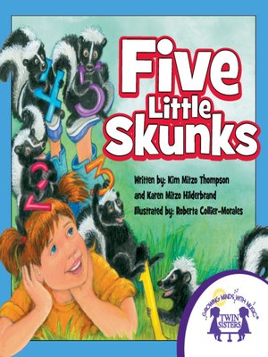 cover image of Five Little Skunks