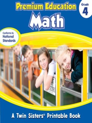 cover image of Premium Education Math Grade 4