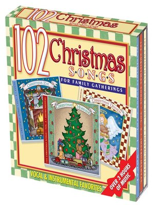cover image of 102 Christmas Songs