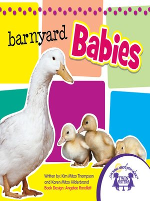 cover image of Barnyard Babies Picture Book