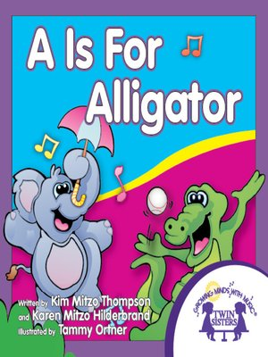 cover image of A is for Alligator