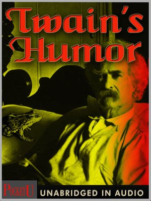 cover image of Twain's Humor