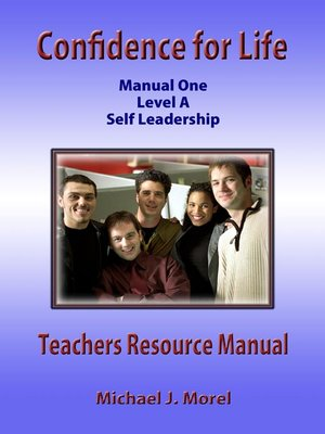 cover image of Confidence For Life Manual One