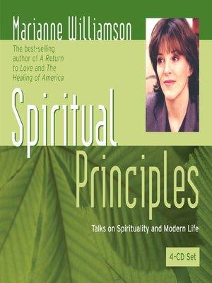 cover image of Spiritual Principles