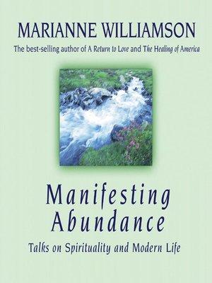 cover image of Manifesting Abundance