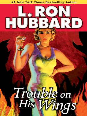 cover image of Trouble on His Wings