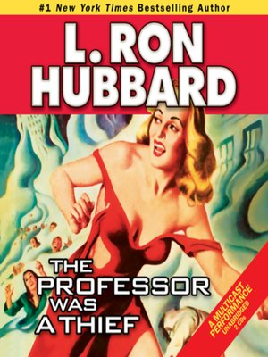 cover image of The Professor Was a Thief