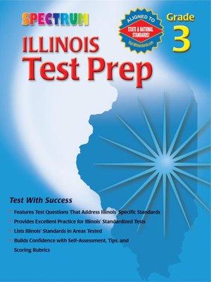 cover image of Illinois Test Prep, Grade 3