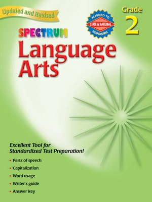 cover image of Spectrum Language Arts, Grade 2