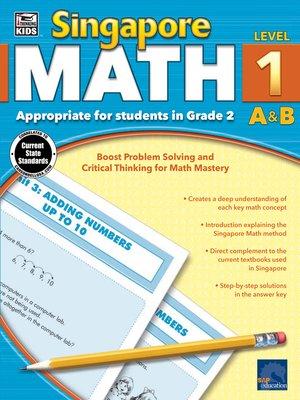 cover image of Singapore Math, Grade 2
