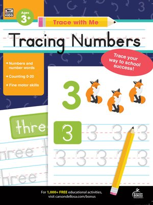 cover image of Trace with Me Tracing Numbers